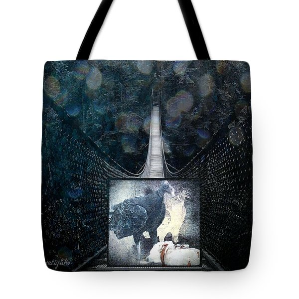 Fear Of Stairs Tote Bag