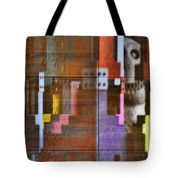 Fearful Reflections San Francisco Tote Bag by Steve Siri
