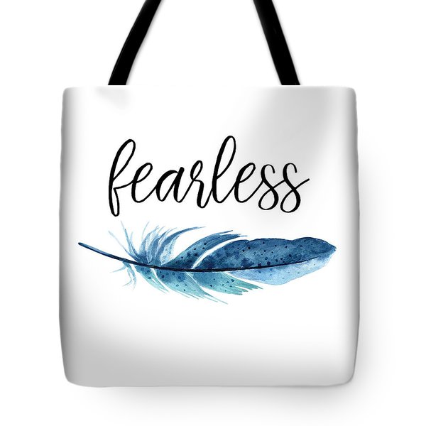 Tote Bag featuring the digital art Fearless by Jaime Friedman