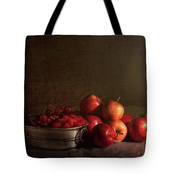 Feast Of Fruits Tote Bag by Tom Mc Nemar