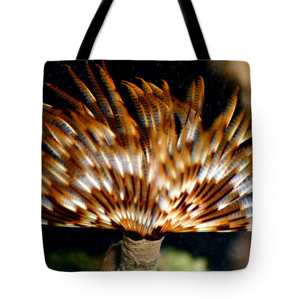 Feather Duster Tote Bag by Anthony Jones
