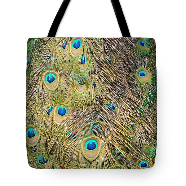 Tote Bag featuring the photograph Feather Finesse by Margaret Bobb