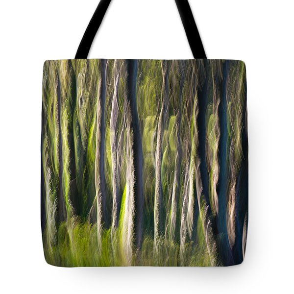 Feather Forest Tote Bag