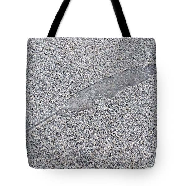Feather Impression Tote Bag