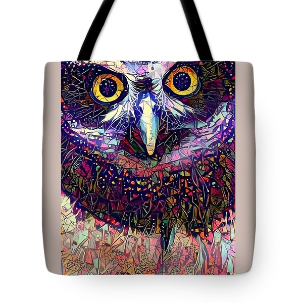 Feather Jeweled Tote Bag