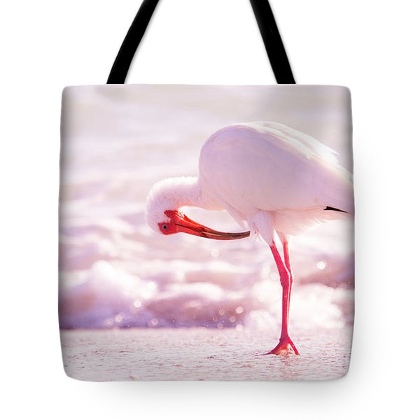 Feather Out Of Place Tote Bag