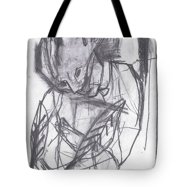 Feather Writer Tote Bag
