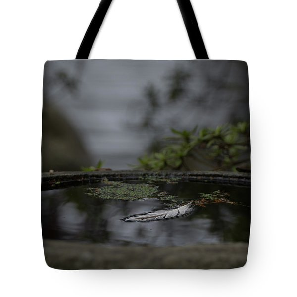 A Feeling Of Floating Weightlessly Tote Bag