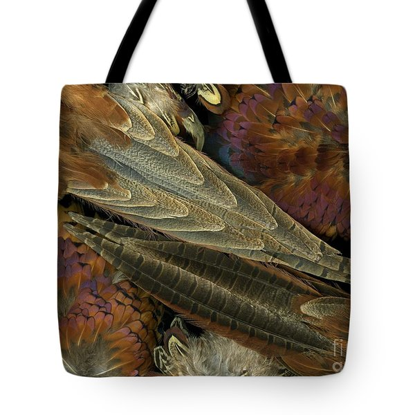 Featherdance Tote Bag