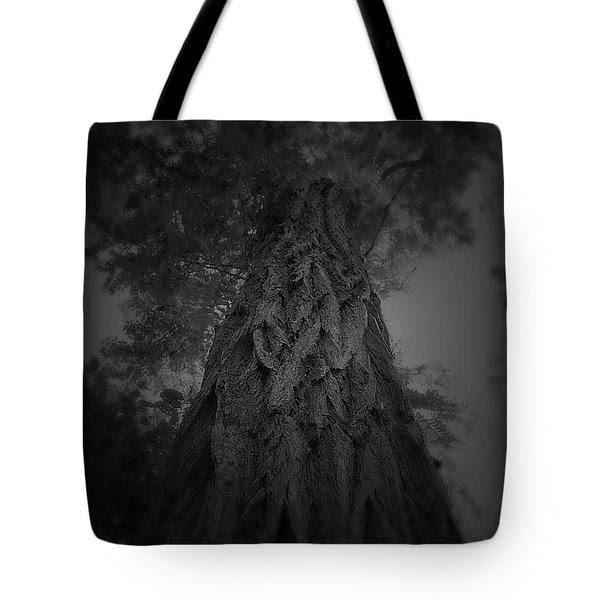 Feathered Bark Tote Bag