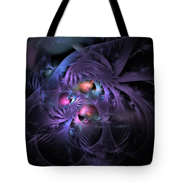 Feathered Cage Tote Bag