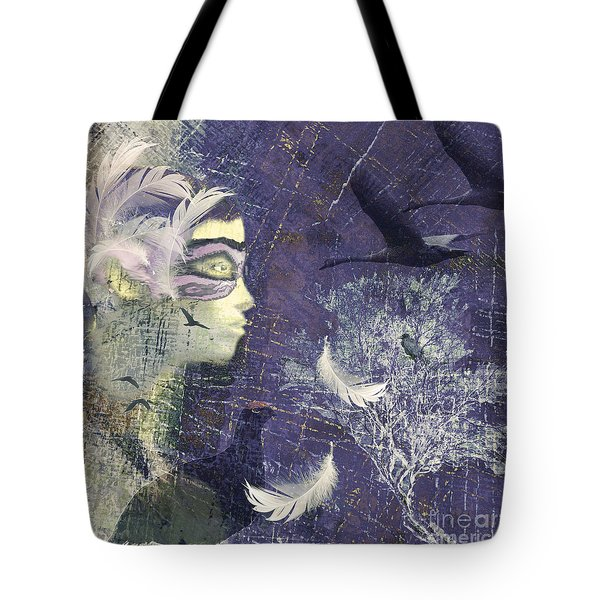 Feathered Friends Tote Bag