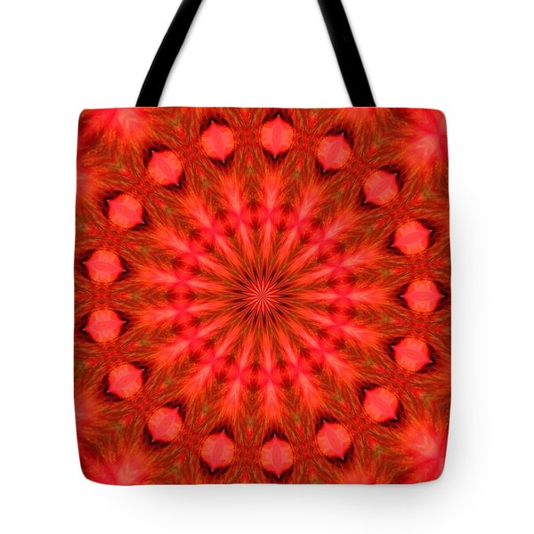 Feathered Rouge Tote Bag