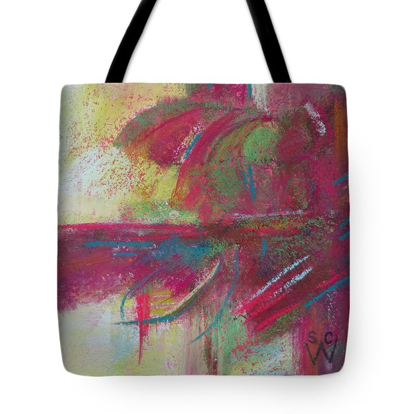 Feathering Tote Bag