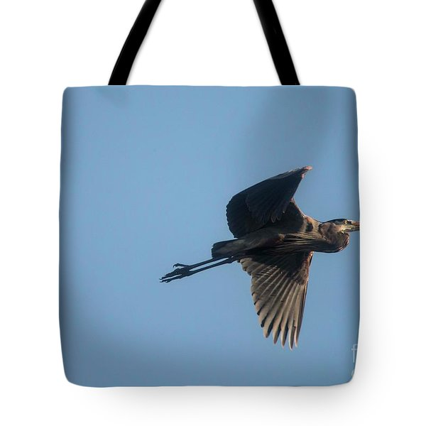Tote Bag featuring the photograph Feathering The Nest by David Bearden