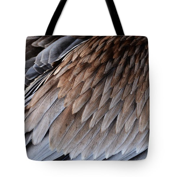 Feathers Cascade Tote Bag
