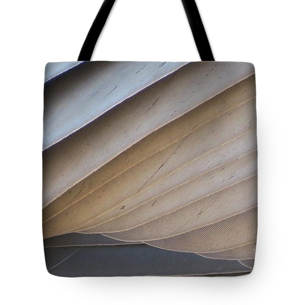 Feathers Tote Bag by Mary Mikawoz