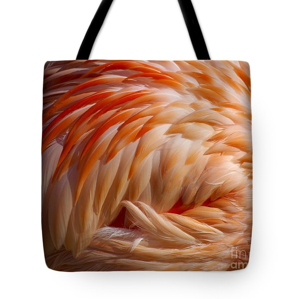 Feathers Of Pink Tote Bag