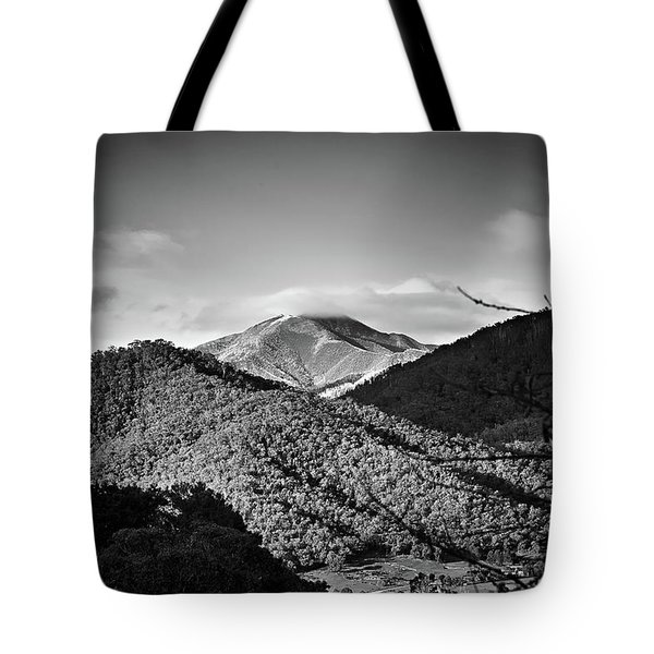 Feathertop Tote Bag by Mark Lucey