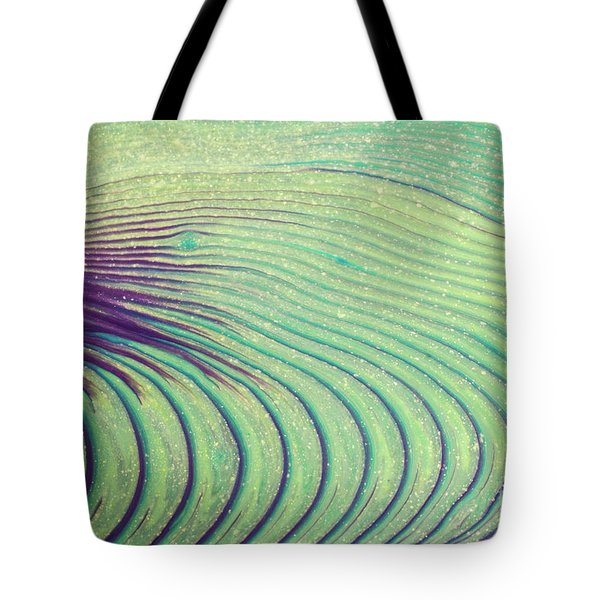 Feathery Ripples Tote Bag