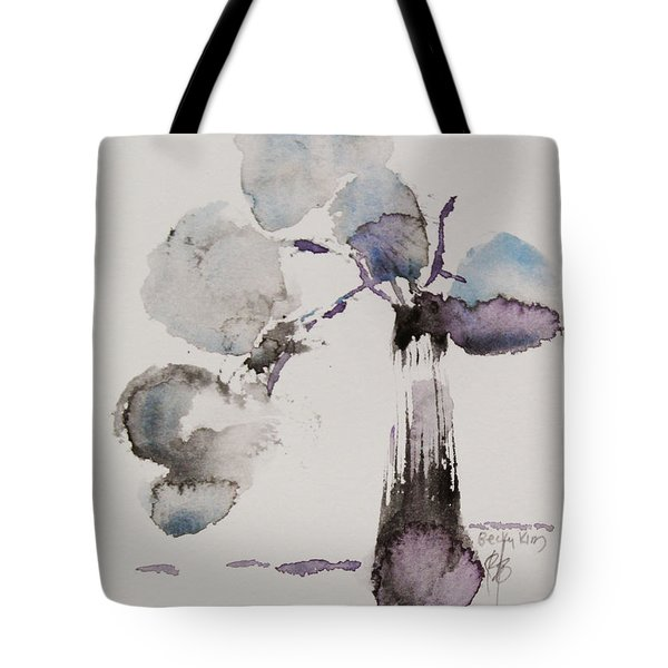February Tote Bag by Becky Kim