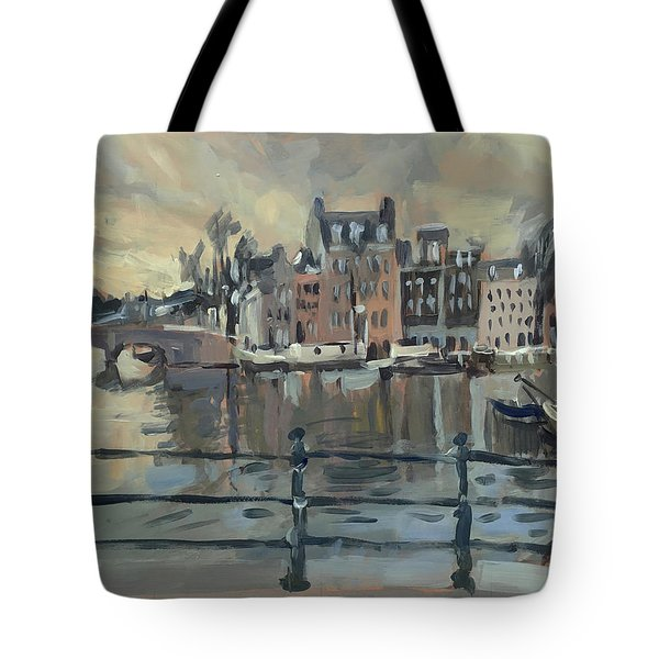 February Morning Along The Amstel Tote Bag