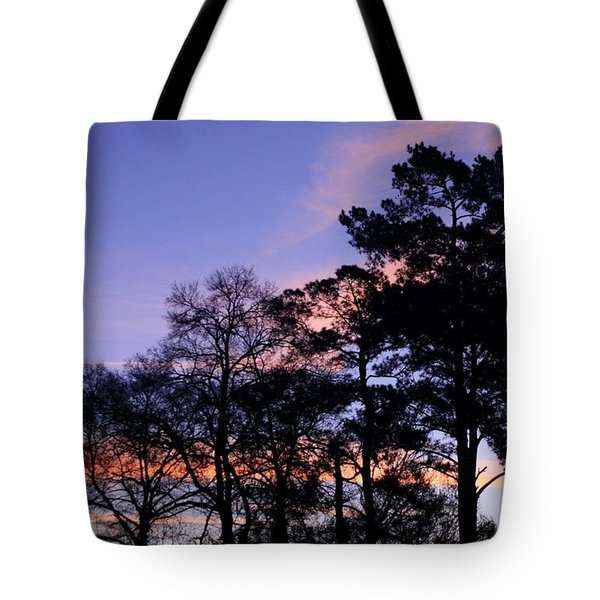 February Morning Tote Bag by John Glass