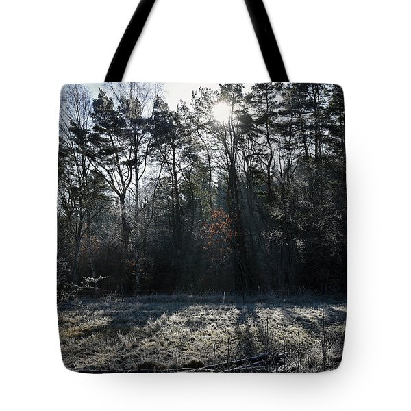 February Morning Tote Bag