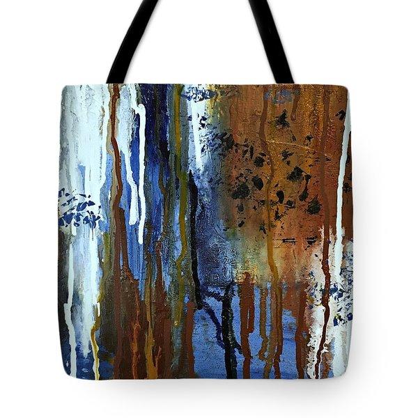 February Rain Tote Bag