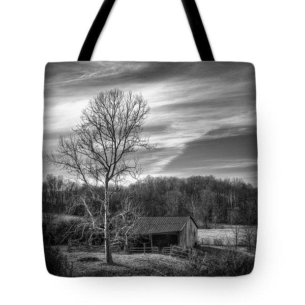 February Sky Tote Bag