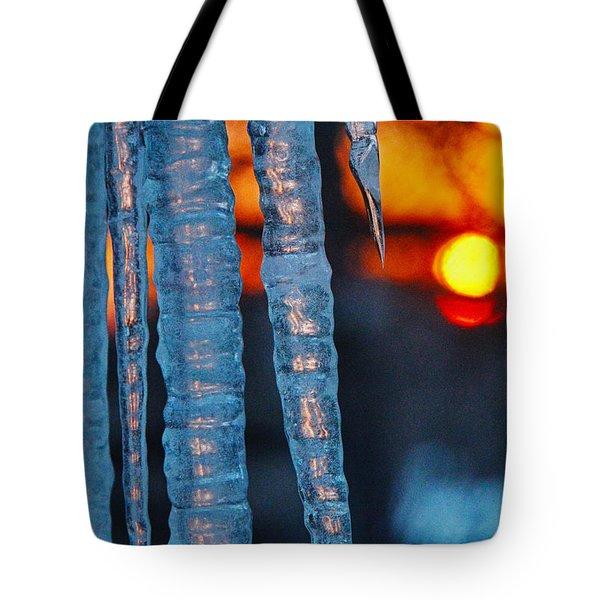 February Sunrise Tote Bag