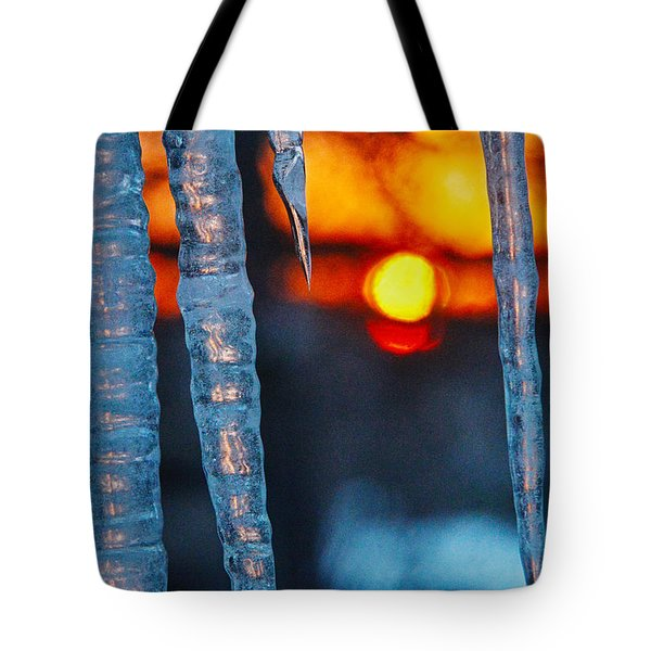 February Sunrise Tote Bag