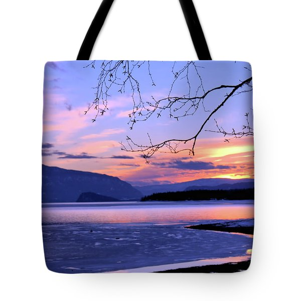 February Sunset 2 Tote Bag by Victor K