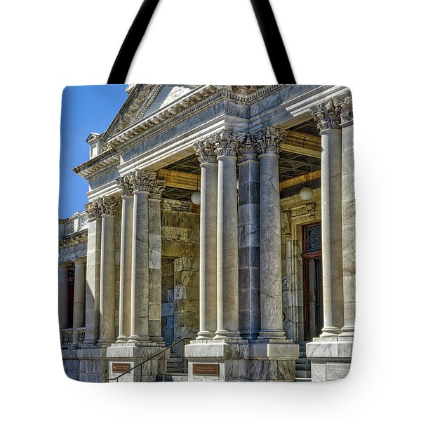 Federal Building Tote Bag by Irwin Seidman