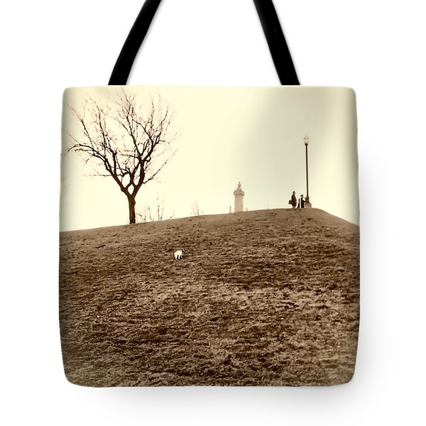 Tote Bag featuring the photograph Federal Hill by Brian Wallace