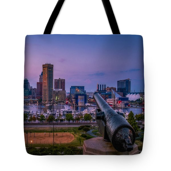 Federal Hill In Baltimore Maryland Tote Bag