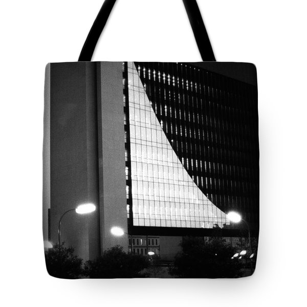 Federal Reserve Building At Twilight Tote Bag