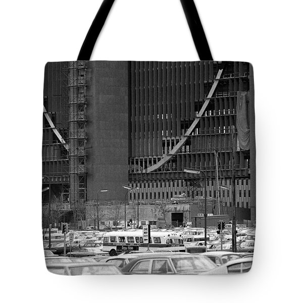 Federal Reserve Under Construction Tote Bag