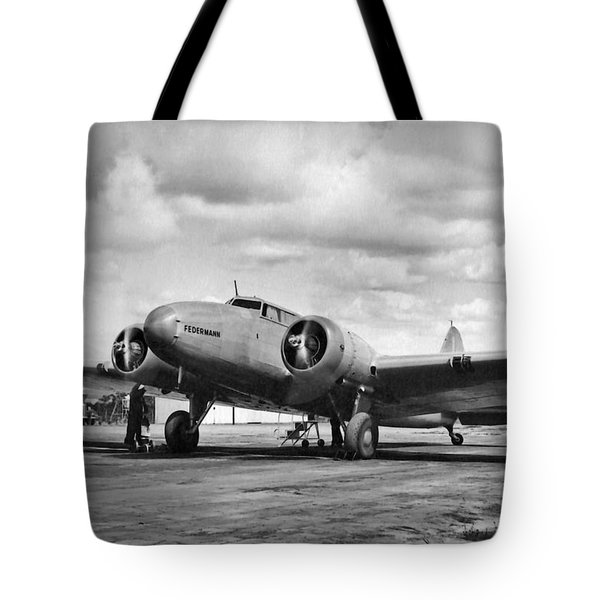 Tote Bag featuring the photograph Federmann by Jeff Phillippi