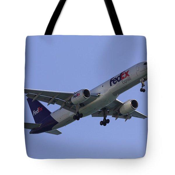 Fedex 757  Tote Bag