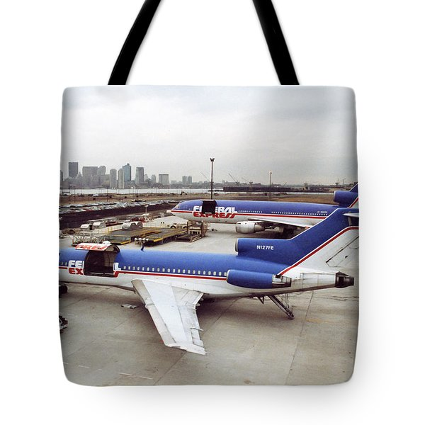 Fedex Ramp Boston 1985 Tote Bag