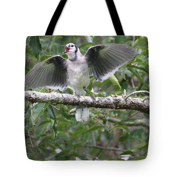 Feed Me Tote Bag by Wendy Coulson