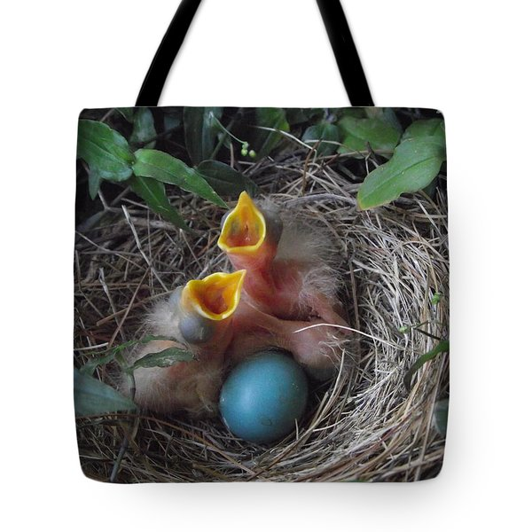 Feed The Hungry Tote Bag by Erika Kennedy