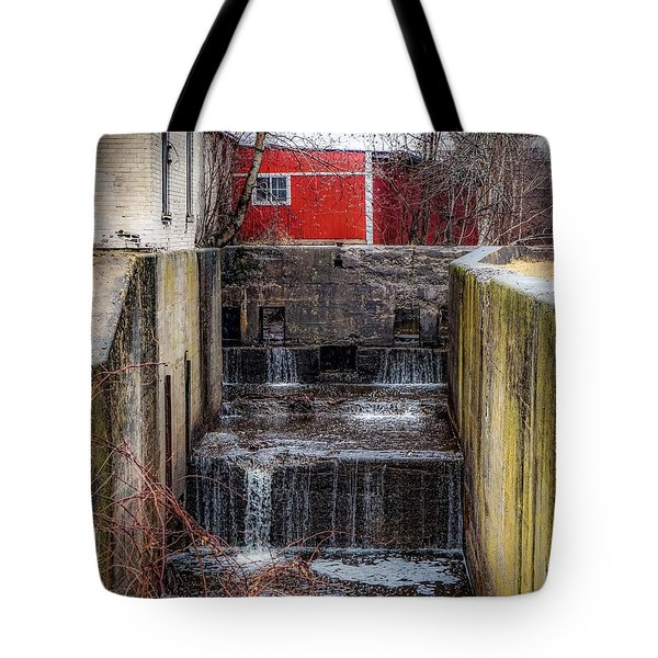 Feeder Canal Lock 13 Tote Bag