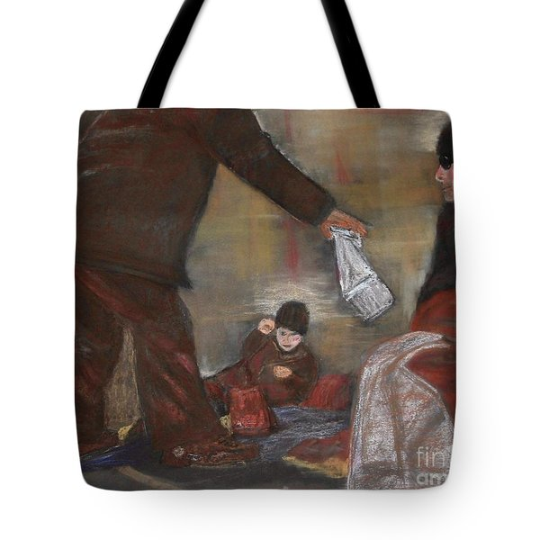 Feeding The Hungry Tote Bag