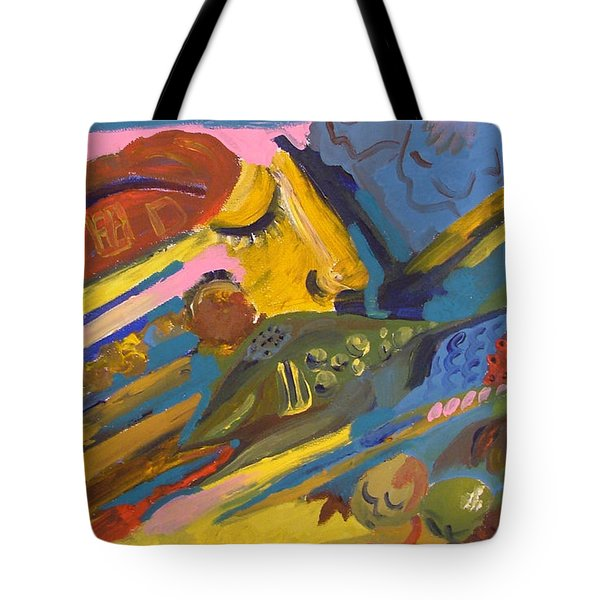 Feel Tote Bag by Rita Fetisov