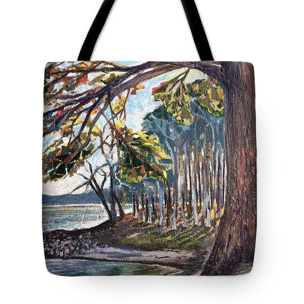 Feel The Breeze Tote Bag