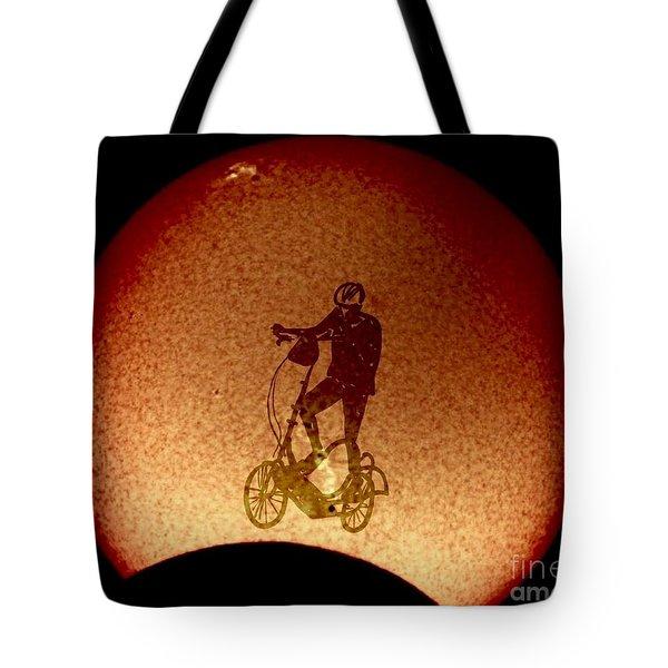 Feel The Burn, Elliptigo Eclipse Tote Bag