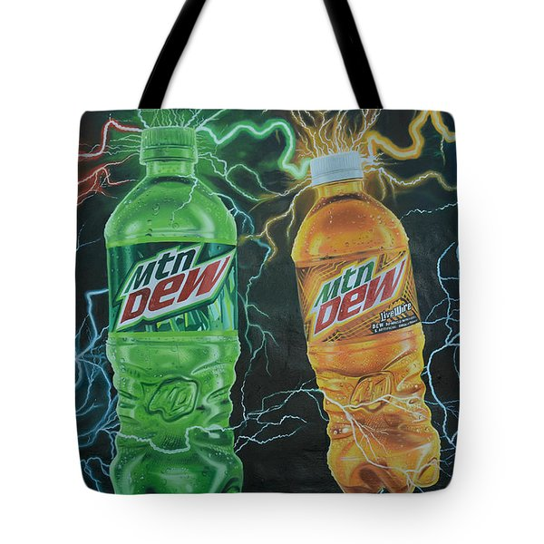 Feel The Dew Tote Bag
