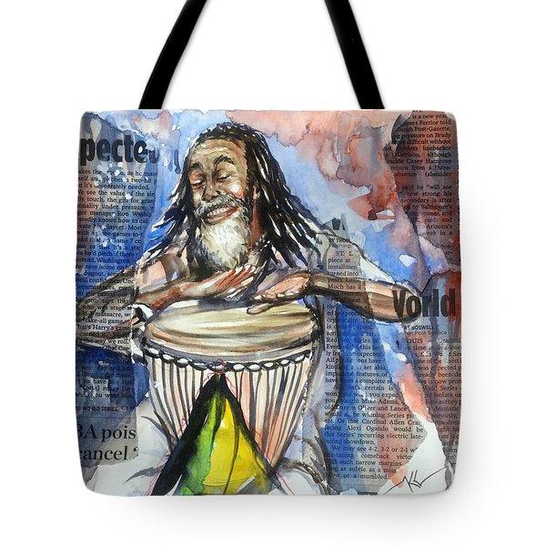 Feel The Rhythm Tote Bag